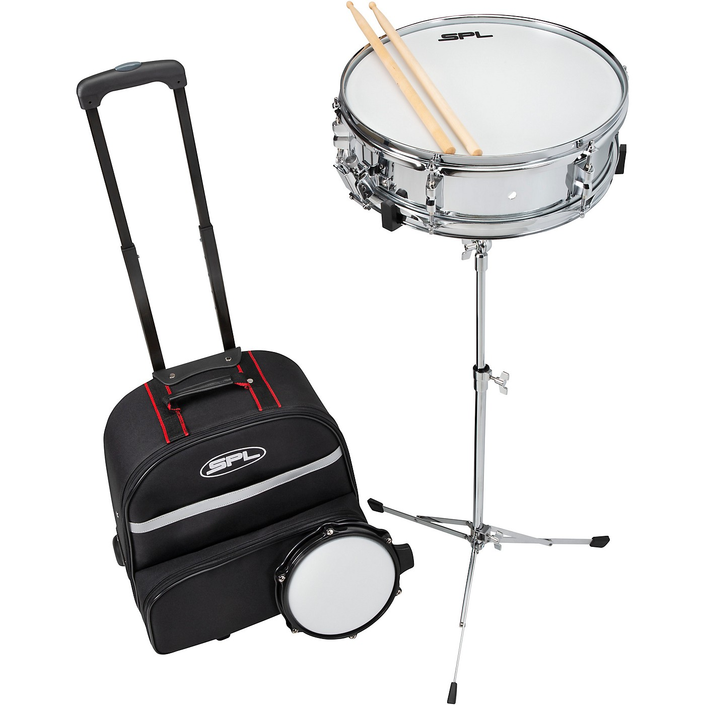 Sound Percussion Labs Snare Drum Kit with Rolling Bag thumbnail