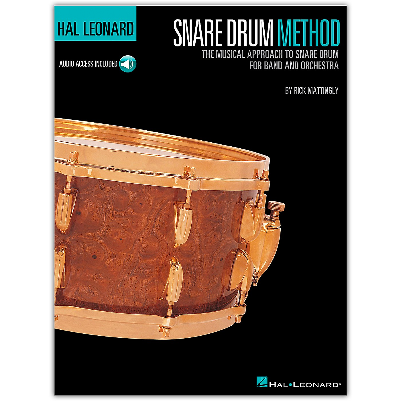 Hal Leonard Snare Drum Method Book/Online Audio thumbnail