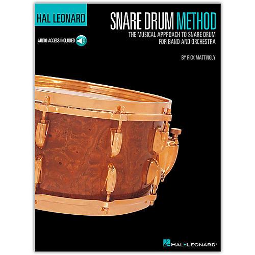 Hal Leonard Snare Drum Method Book/Online Audio thumbnail