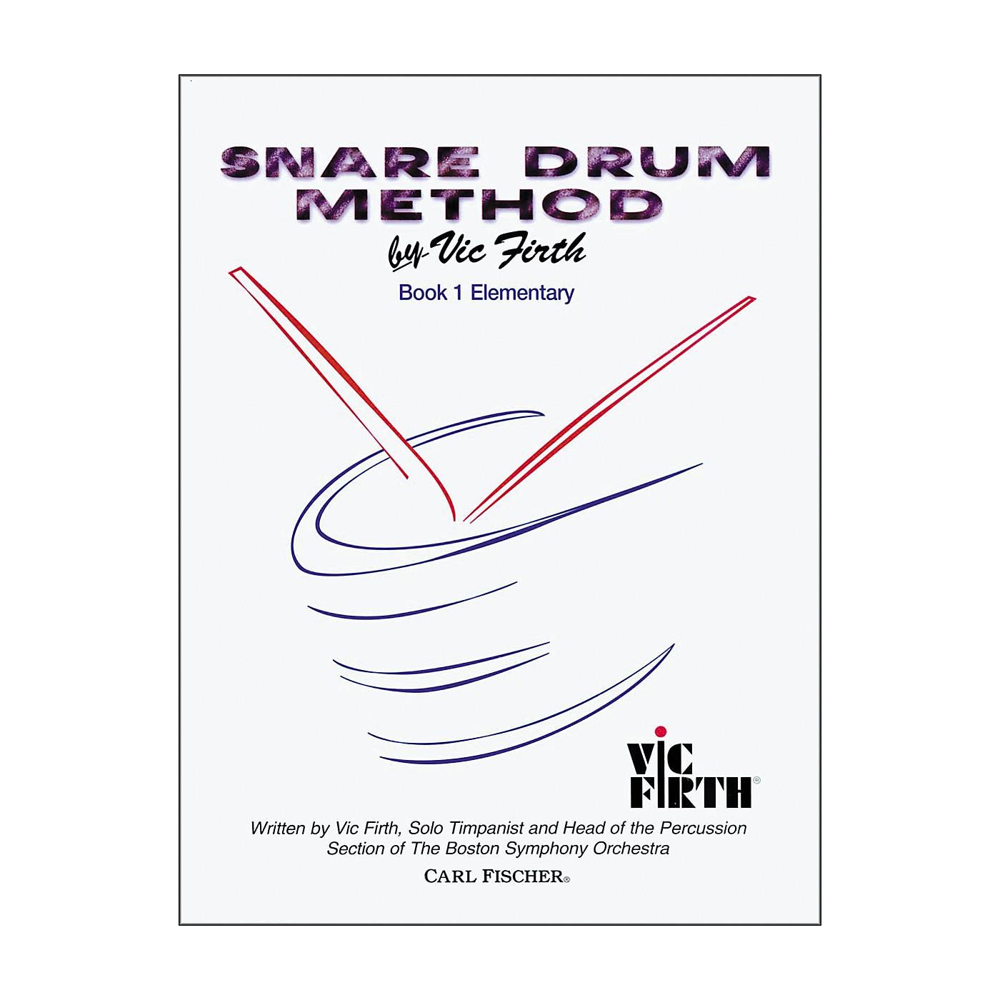 Carl Fischer Snare Drum Method Book thumbnail