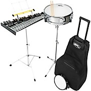 Snare and Bell Kit with Rolling Bag 14 x 4 in.
