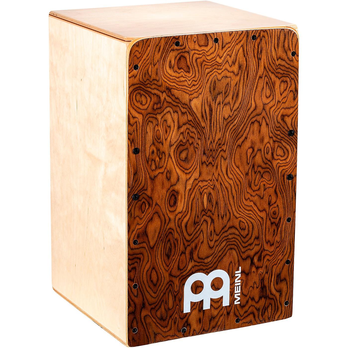 Meinl Snarecraft Series Cajon, Burl Wood thumbnail