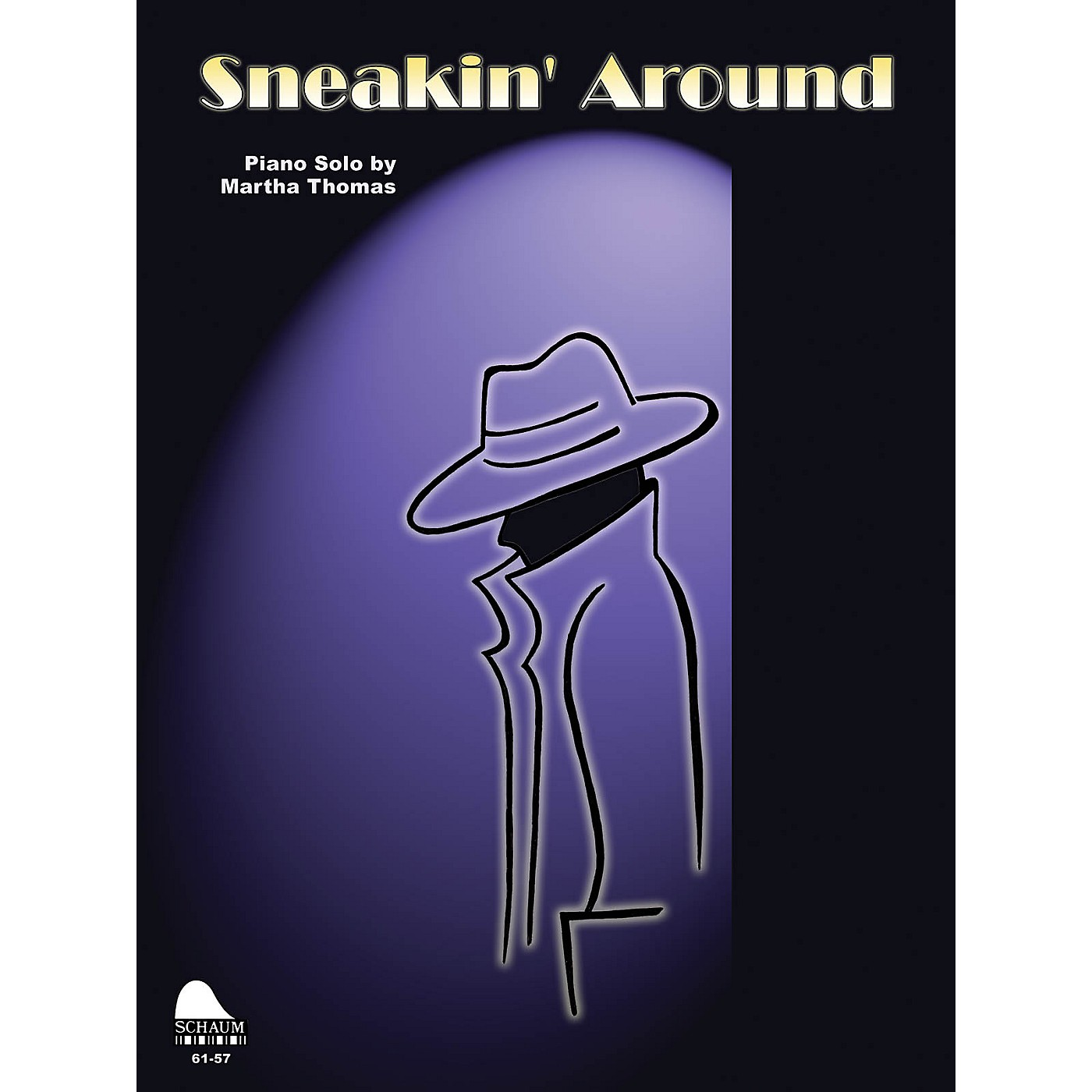 SCHAUM Sneakin' Around Educational Piano Series Softcover thumbnail