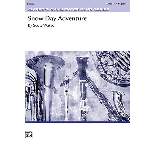 Alfred Snow Day Adventure Concert Band Grade 1.5 Set thumbnail