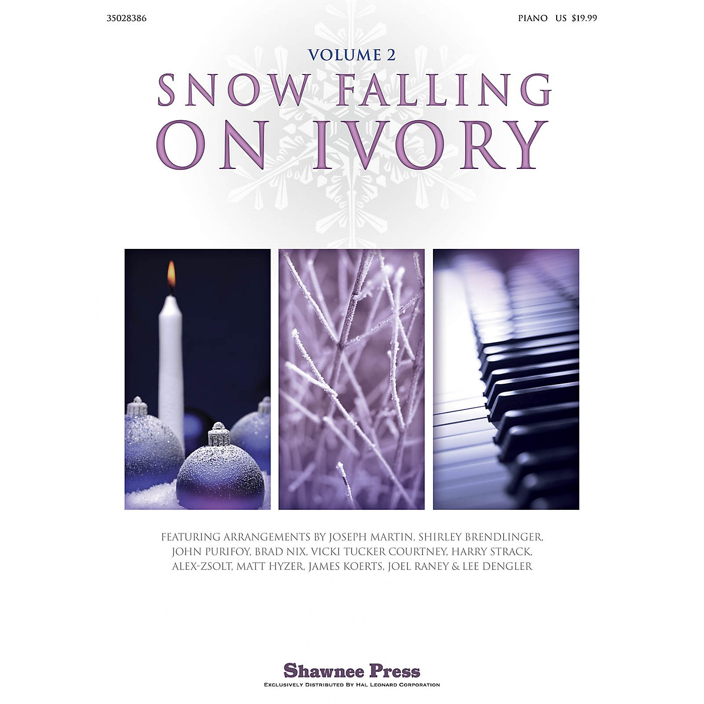 Shawnee Press Snow Falling on Ivory - Volume 2 Arranged by Various thumbnail