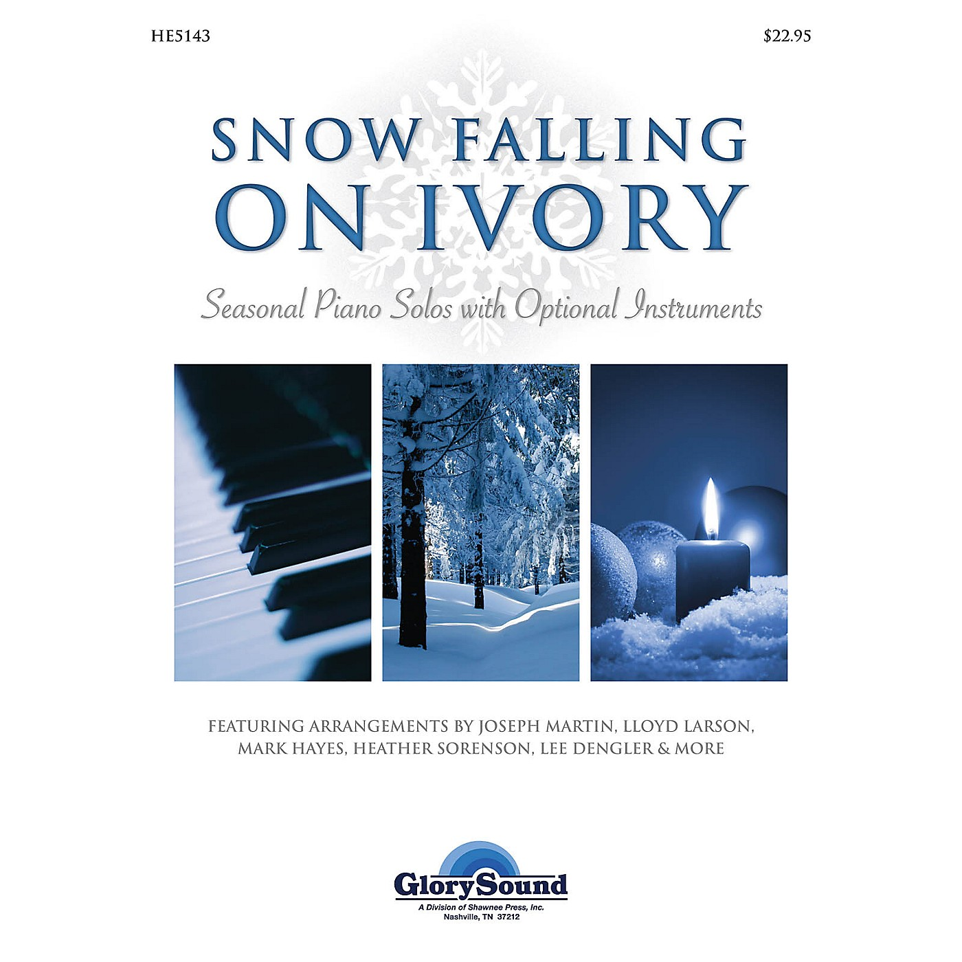 Shawnee Press Snow Falling on Ivory (Seasonal Piano Solos with Optional Instruments) thumbnail