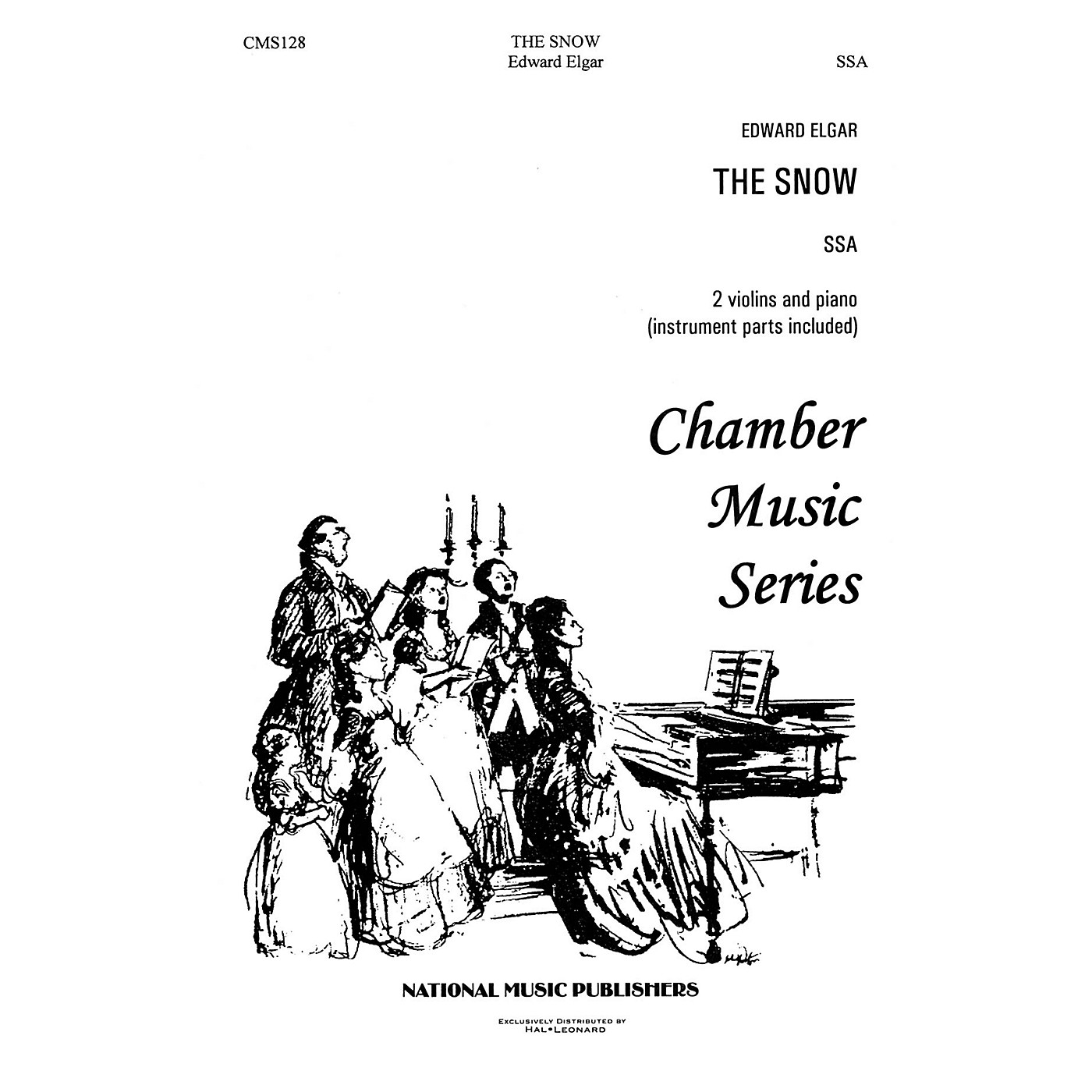 Hal Leonard Snow, The SSA composed by Robert Carl thumbnail