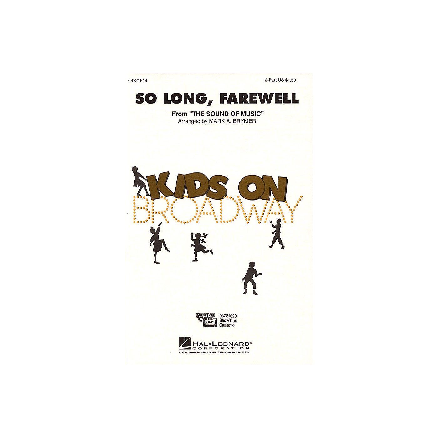 Hal Leonard So Long, Farewell (from The Sound of Music) 2-Part arranged by Mark Brymer thumbnail