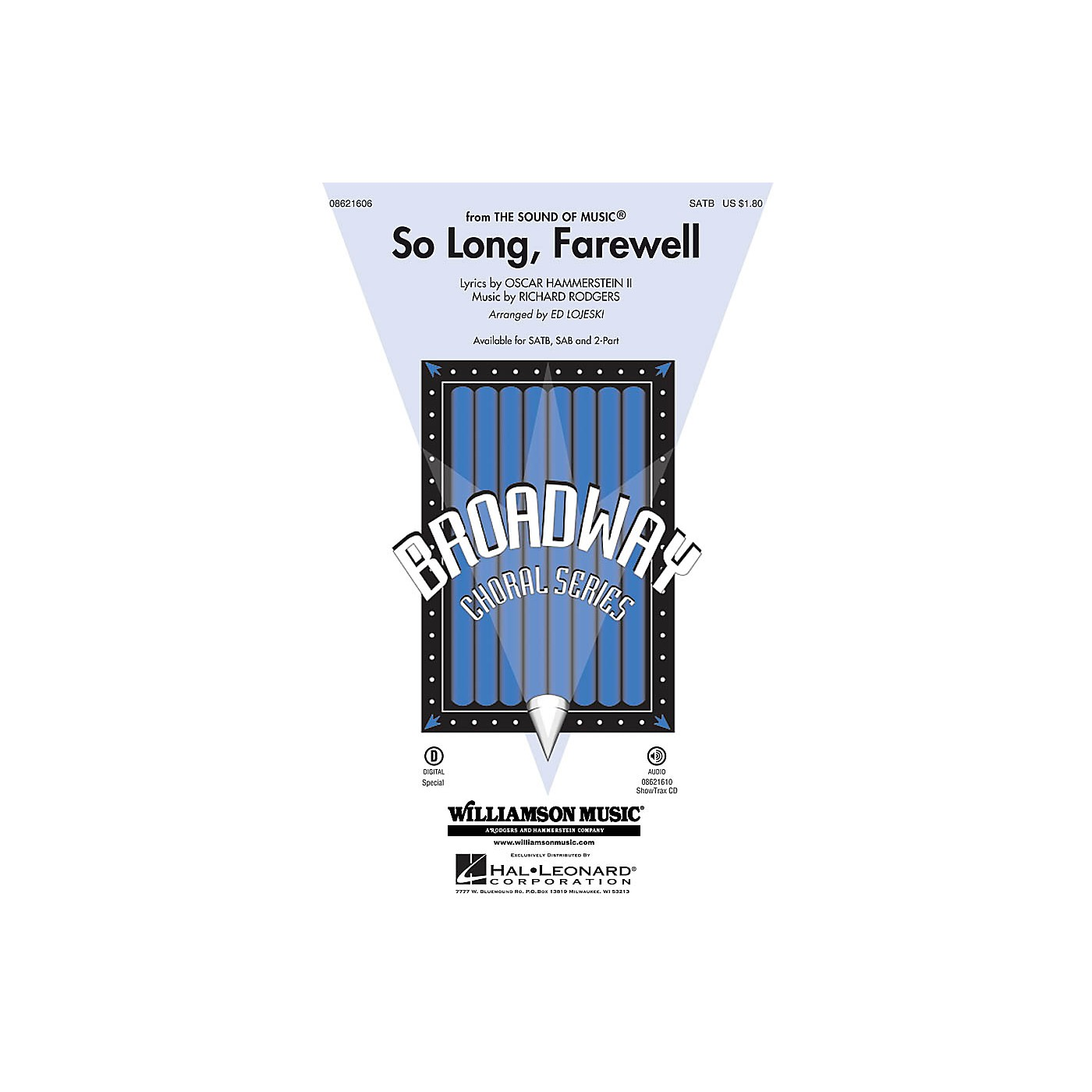 Hal Leonard So Long, Farewell (from The Sound of Music) ShowTrax CD Arranged by Ed Lojeski thumbnail