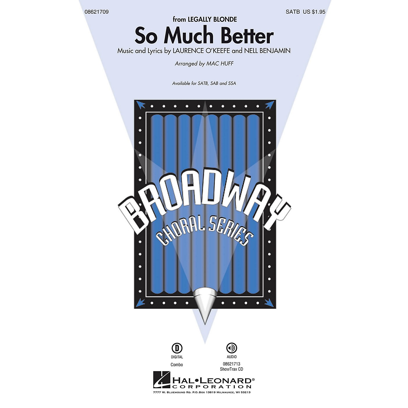 Hal Leonard So Much Better (from Legally Blonde) SAB Arranged by Mac Huff thumbnail