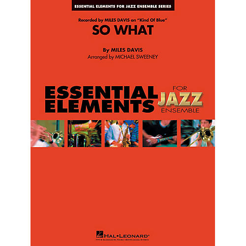 Hal Leonard So What Jazz Band Level 1-2 Arranged by Michael Sweeney thumbnail