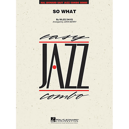 Hal Leonard So What Jazz Band Level 2 by Miles Davis Arranged by John Berry thumbnail