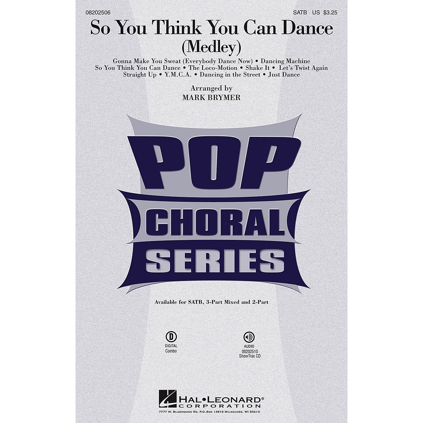 Hal Leonard So You Think You Can Dance (Medley) SATB by Various arranged by Mark Brymer thumbnail