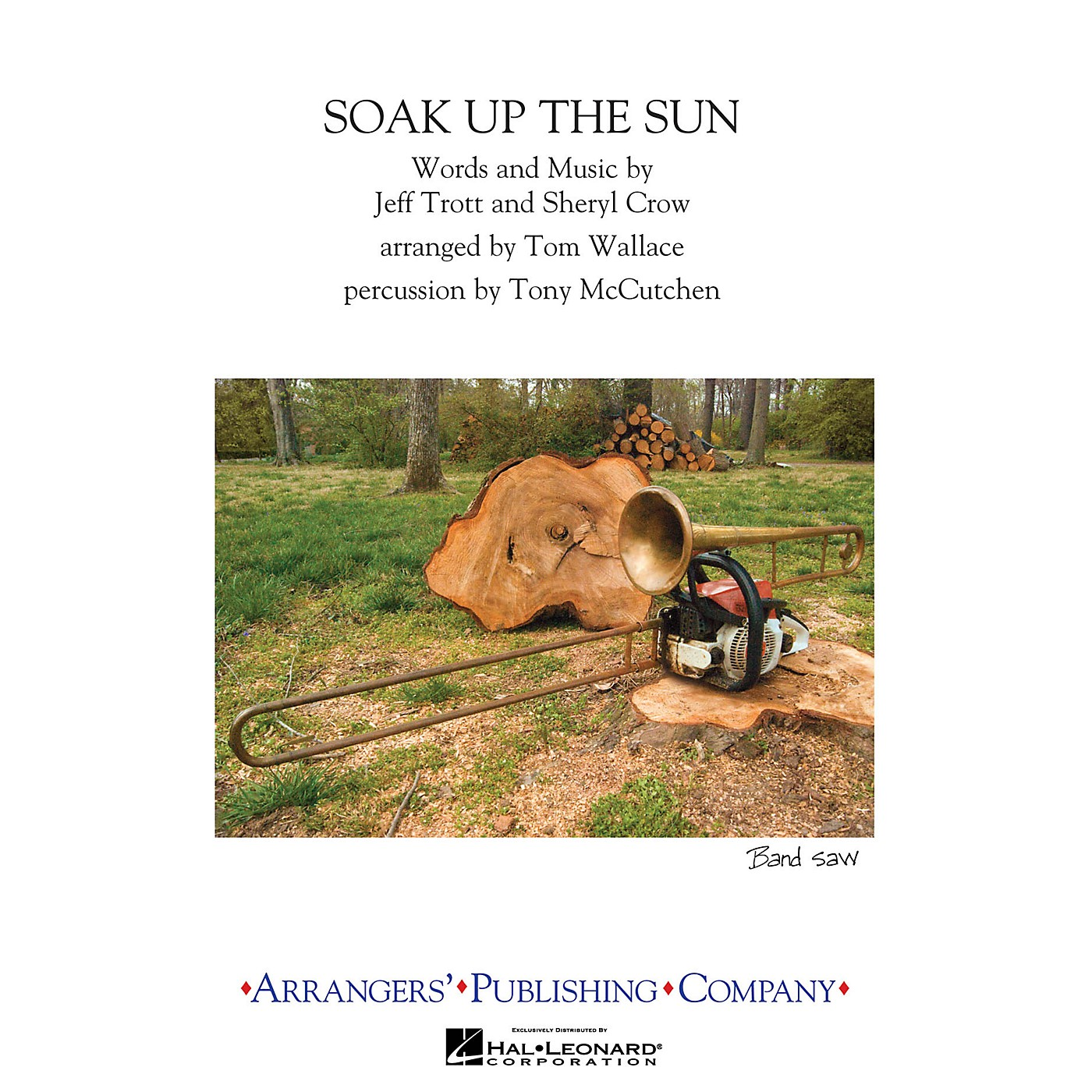 Arrangers Soak Up the Sun Marching Band Level 3 by Sheryl Crow Arranged by Tom Wallace thumbnail