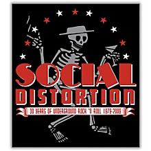 C&D Visionary Social Distortion  - Skeleton Sticker