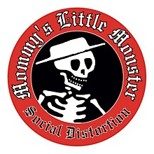 C&D Visionary Social Distortion Sticker