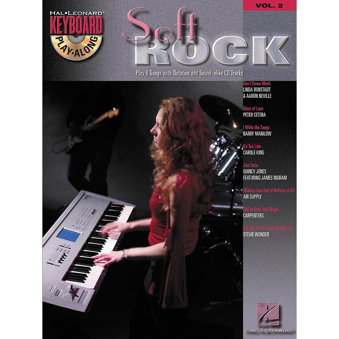 Hal Leonard Soft Rock: Keyboard Play-Along Series, Volume 2 (Book/CD) thumbnail