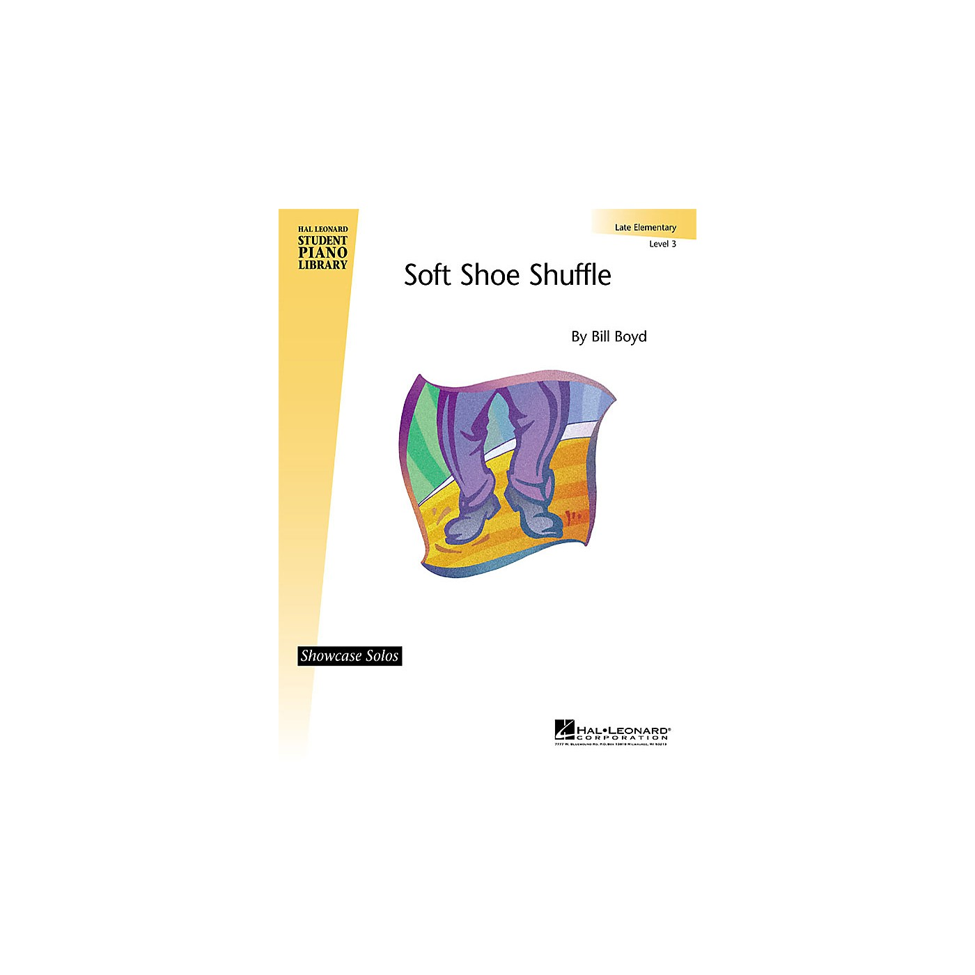 Hal Leonard Soft Shoe Shuffle (Late Elem (Level 3) Showcase Solo) Piano Library Series by Bill Boyd thumbnail