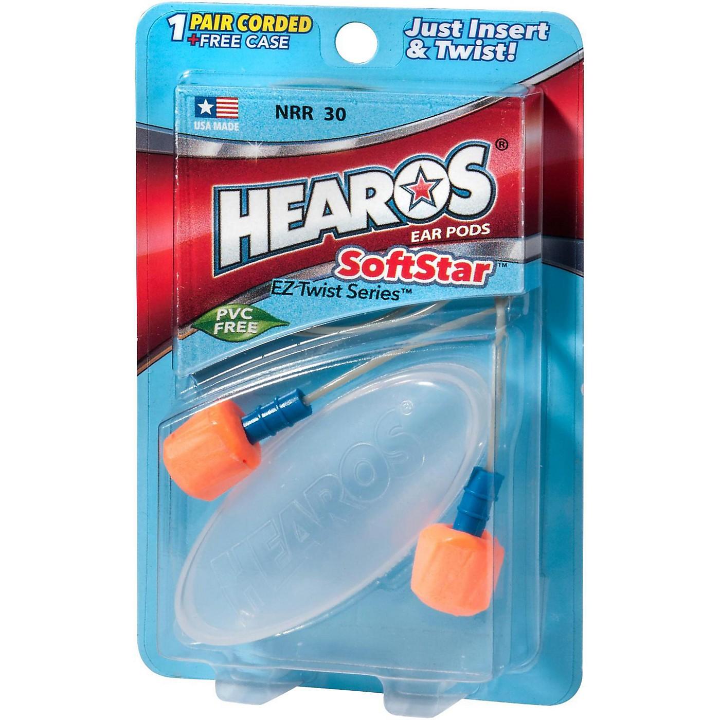 Hearos SoftStar EZ Twist - 1 Pair Corded With Case thumbnail
