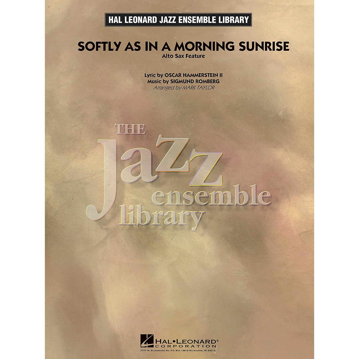 Hal Leonard Softly as in a Morning Sunrise (Solo Alto Sax Feature) Jazz Band Level 4 Arranged by Mark Taylor thumbnail