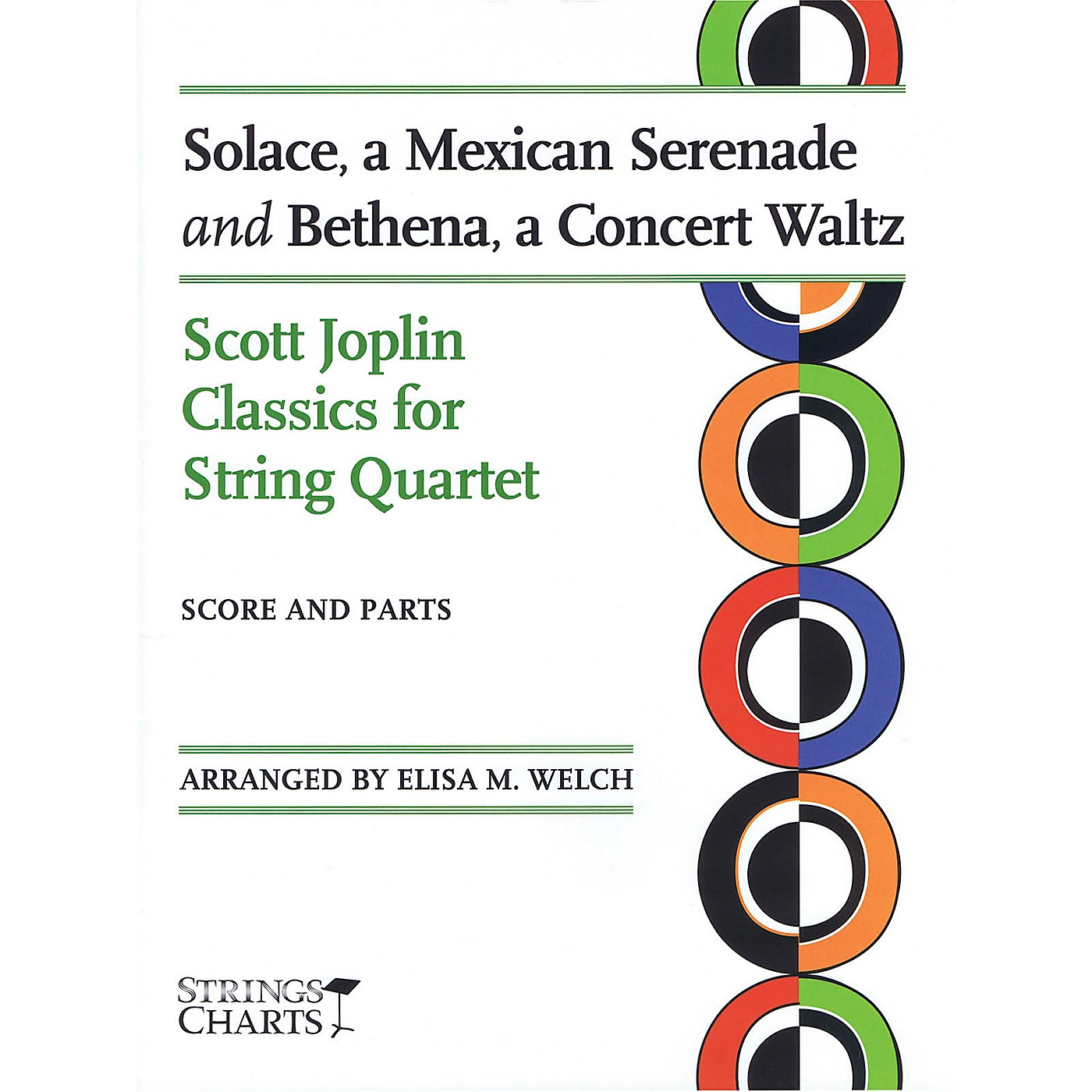 String Letter Publishing Solace, a Mexican Serenade and Bethena, a Concert Waltz String Series Softcover by Elisa M. Welch thumbnail