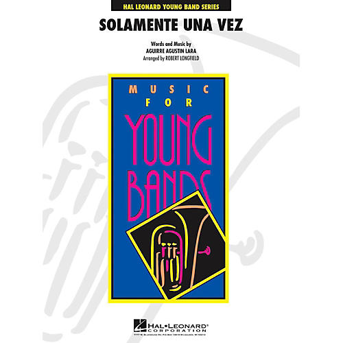 Hal Leonard Solamente Una Vez - Young Concert Band Level 3 thumbnail