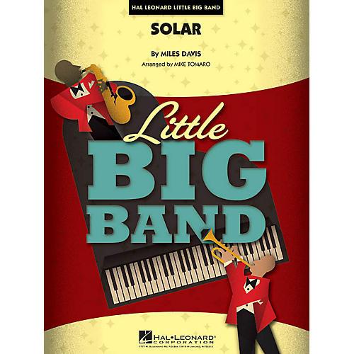 Hal Leonard Solar Jazz Band Level 4 Arranged by Mike Tomaro thumbnail