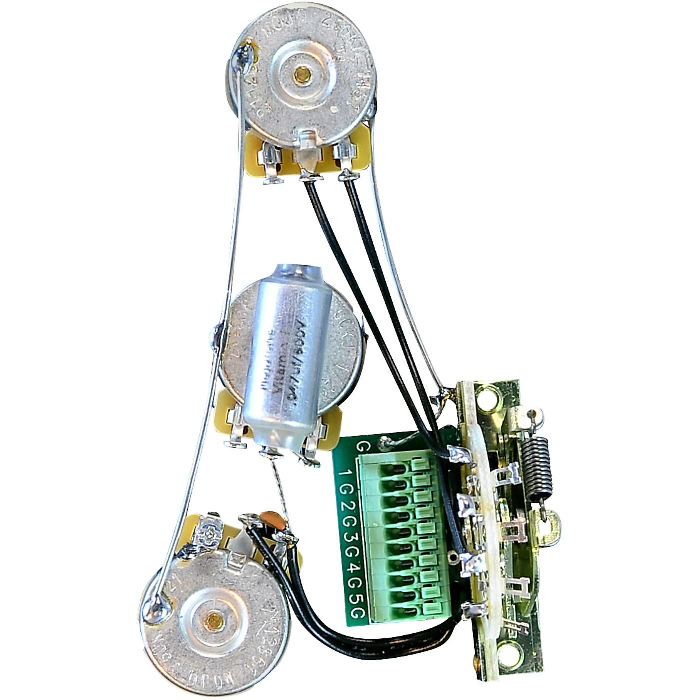 Mojotone Solderless Strat Blender Guitar Wiring Harness thumbnail