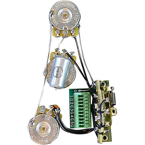 Mojotone Solderless Strat Standard Guitar Wiring Harness thumbnail