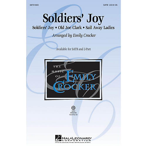 Hal Leonard Soldiers' Joy SATB arranged by Emily Crocker thumbnail