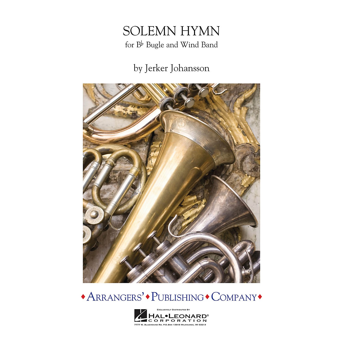 Arrangers Solemn Hymn (for B-flat Bugle and Wind Band) Concert Band Level 2 Composed by Jerker Johansson thumbnail