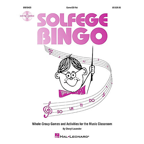 Hal Leonard Solfege Bingo - Whole-Group Games and Activities Game/CD thumbnail