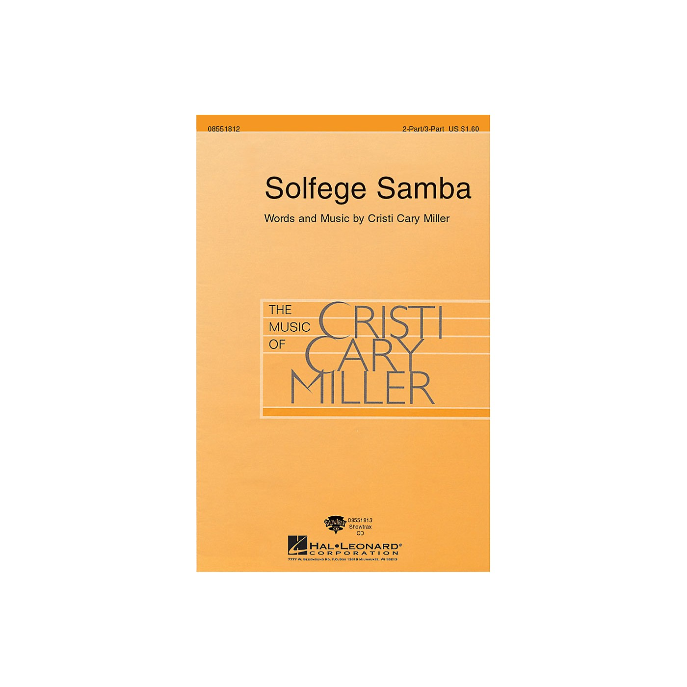 Hal Leonard Solfege Samba 2 Part / 3 Part composed by Cristi Cary Miller thumbnail