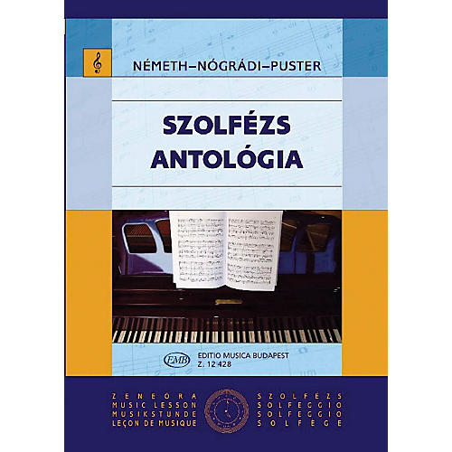 Editio Musica Budapest Solfeggio Anthology EMB Series thumbnail