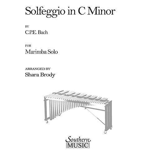 Hal Leonard Solfeggio In C Minor (Percussion Music/Mallet/marimba/vibra) Southern Music Series by Sharda Brody thumbnail