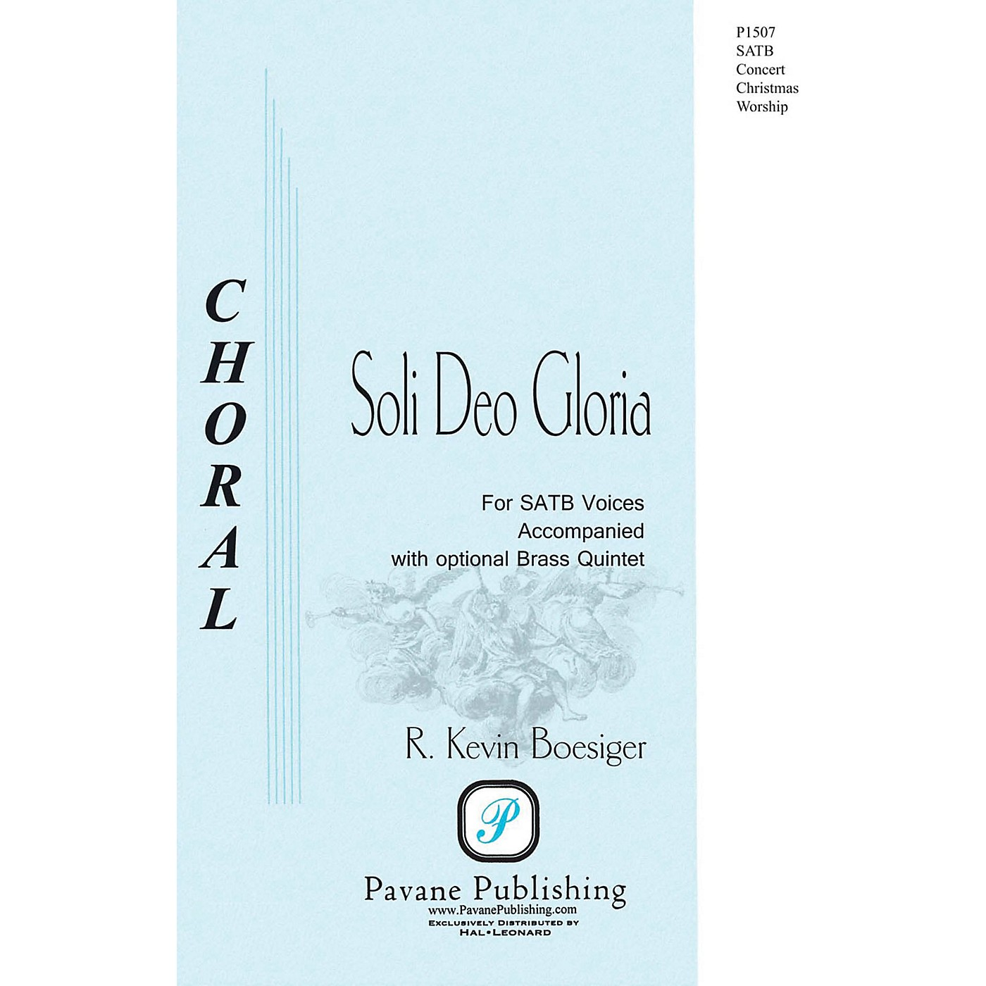 Pavane Soli Deo Gloria SATB composed by R. Kevin Boesiger thumbnail