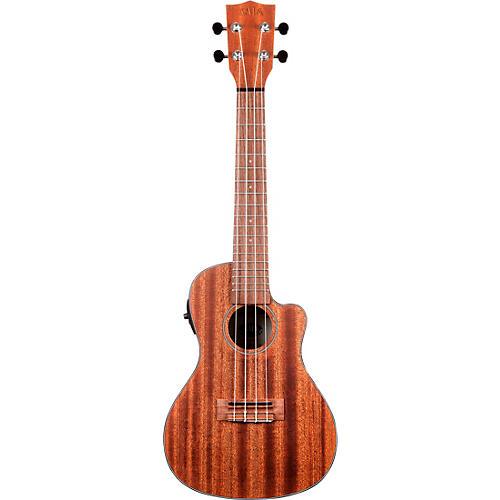 Kala Solid Mahogany Concert Cutaway Acoustic-Electric Ukulele thumbnail