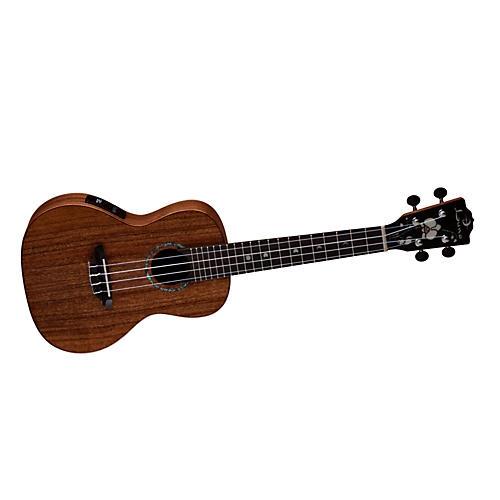 Luna Guitars Solid Wood Concert Acoustic-Electric Ukulele thumbnail