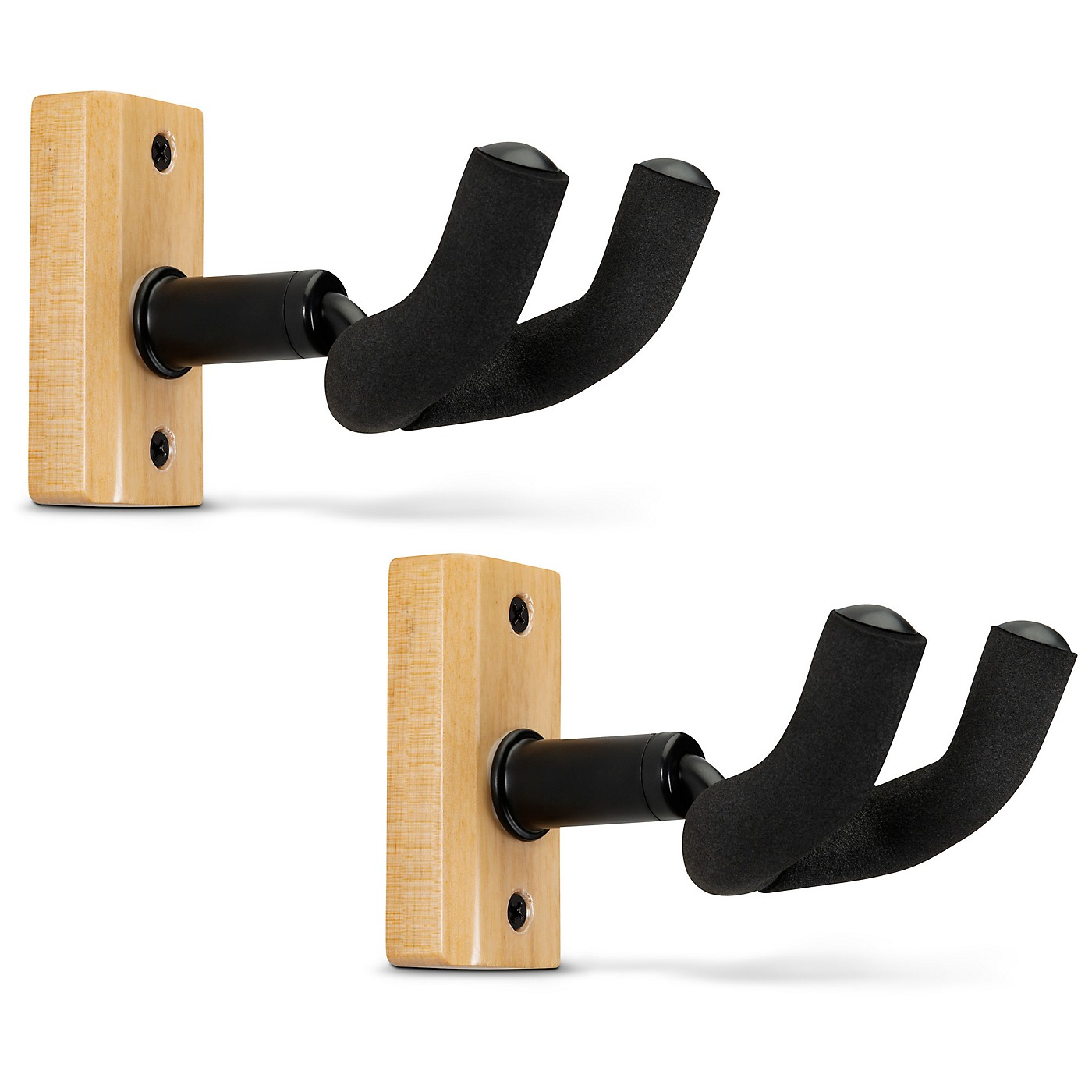 Proline Solid Wood Guitar Hanger - Natural, 2-Pack thumbnail
