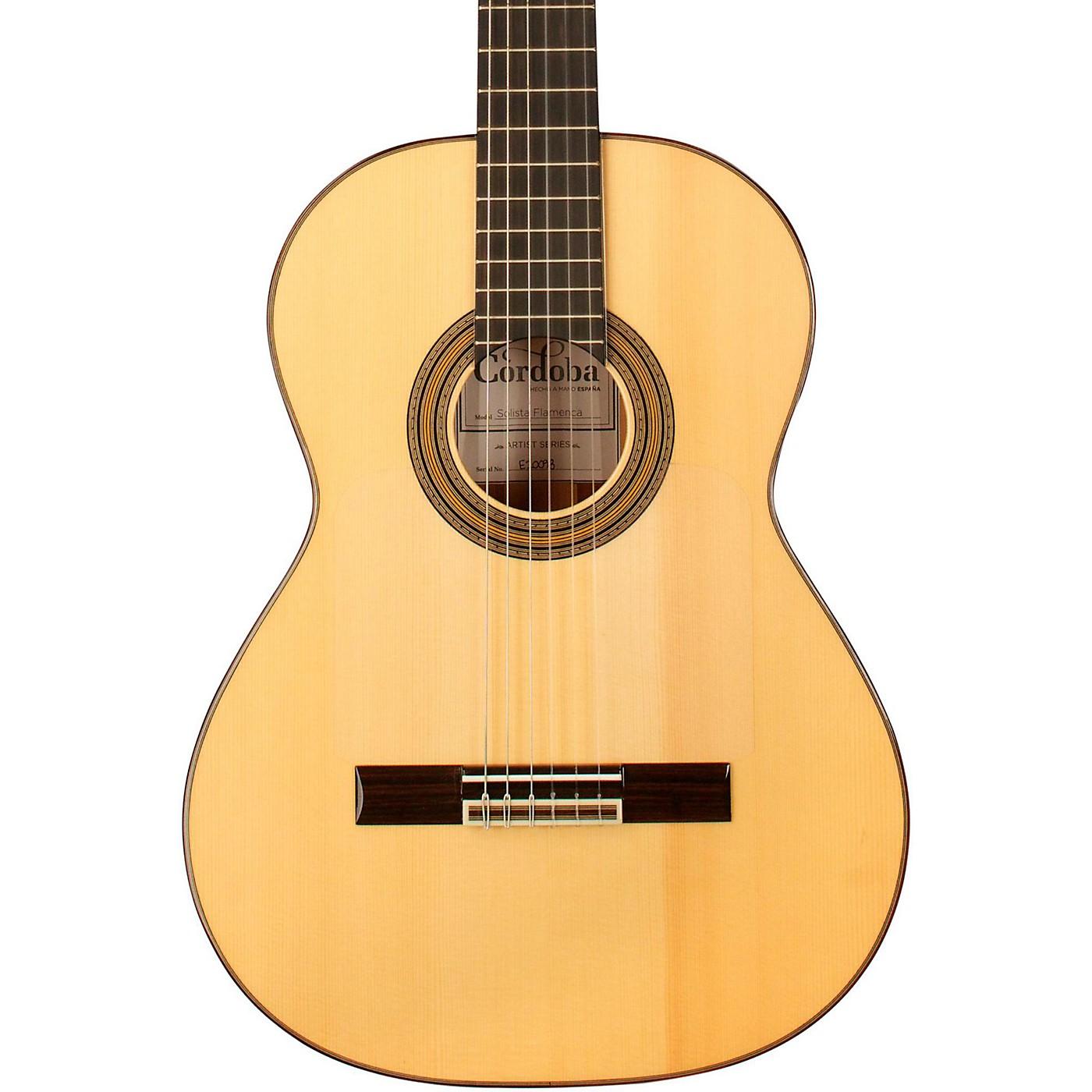 Cordoba Solista Flamenca Acoustic Nylon String Flamenco Guitar thumbnail