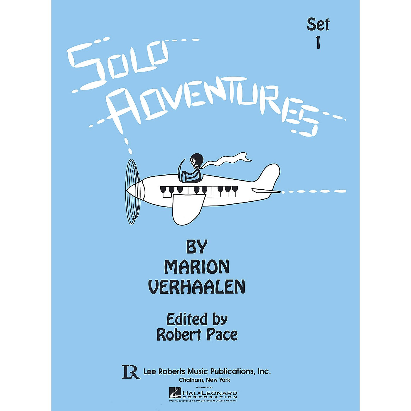 Lee Roberts Solo Adventures - Set 1 (Set 1) Pace Piano Education Series Softcover Composed by Marion Verhaalen thumbnail