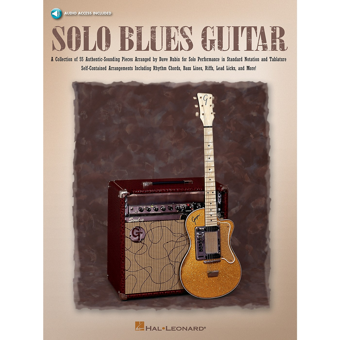 Hal Leonard Solo Blues Guitar Guitar Collection Series Softcover Audio Online Written by Dave Rubin thumbnail