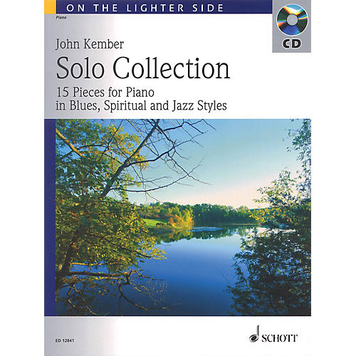 Schott Solo Collection (15 Pieces for Piano in Blues, Spiritual and Jazz Styles) Schott Series Softcover with CD thumbnail