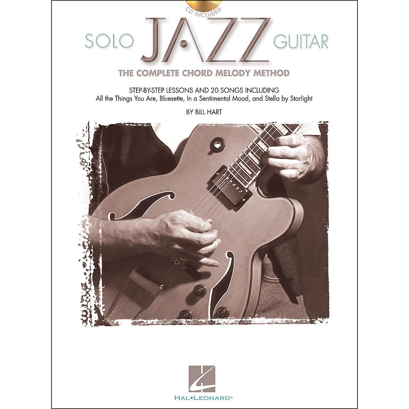 Hal Leonard Solo Jazz Guitar Book/CD thumbnail
