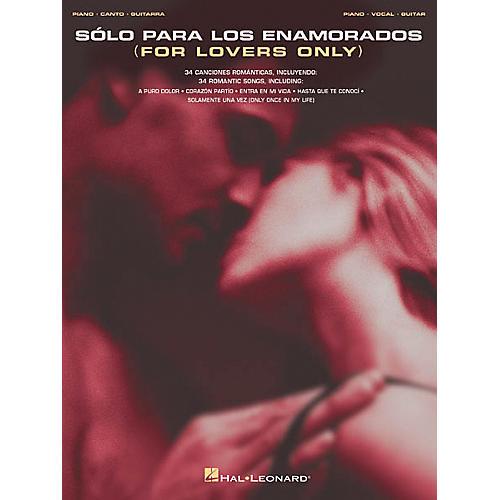 Hal Leonard Solo Para Los Enamorados Piano, Vocal, Guitar Songbook thumbnail