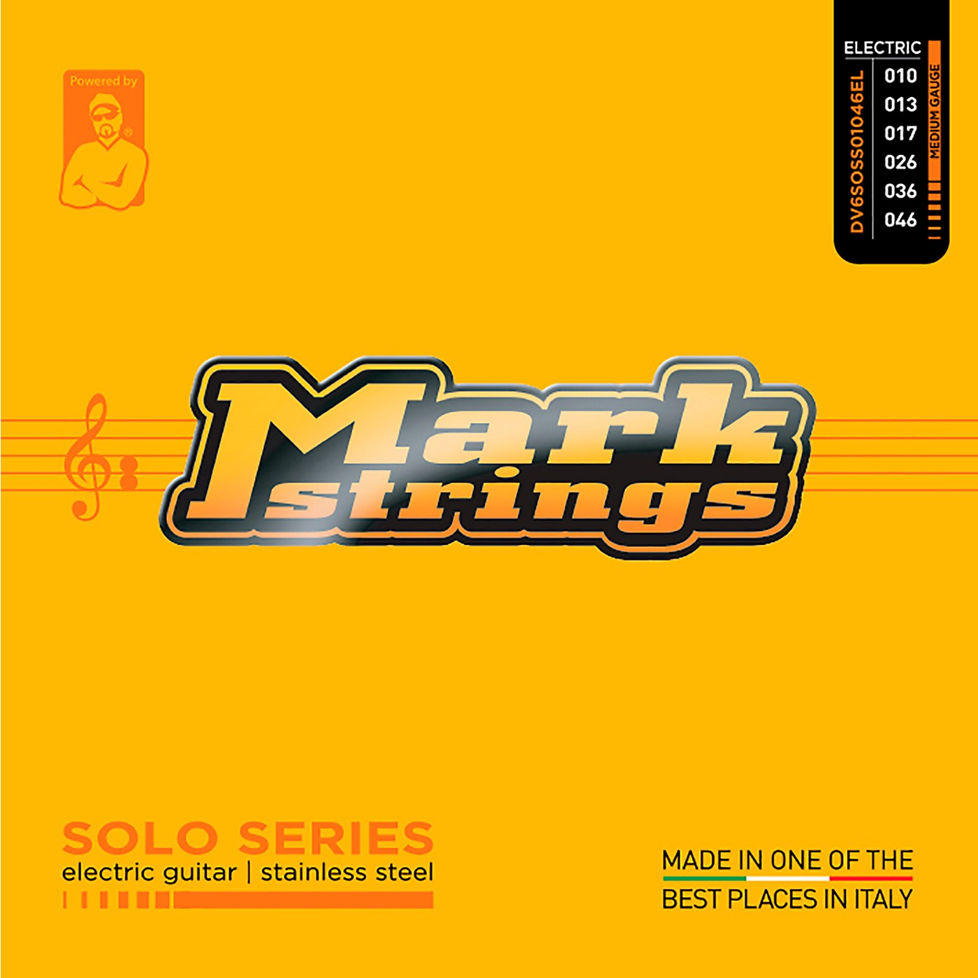 Markbass Solo Series Stainless Steel Electric Guitar Strings (10-46) thumbnail
