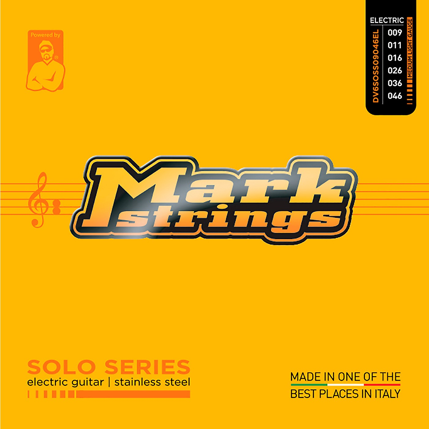Markbass Solo Series Stainless Steel Electric Guitar Strings (9-46) thumbnail