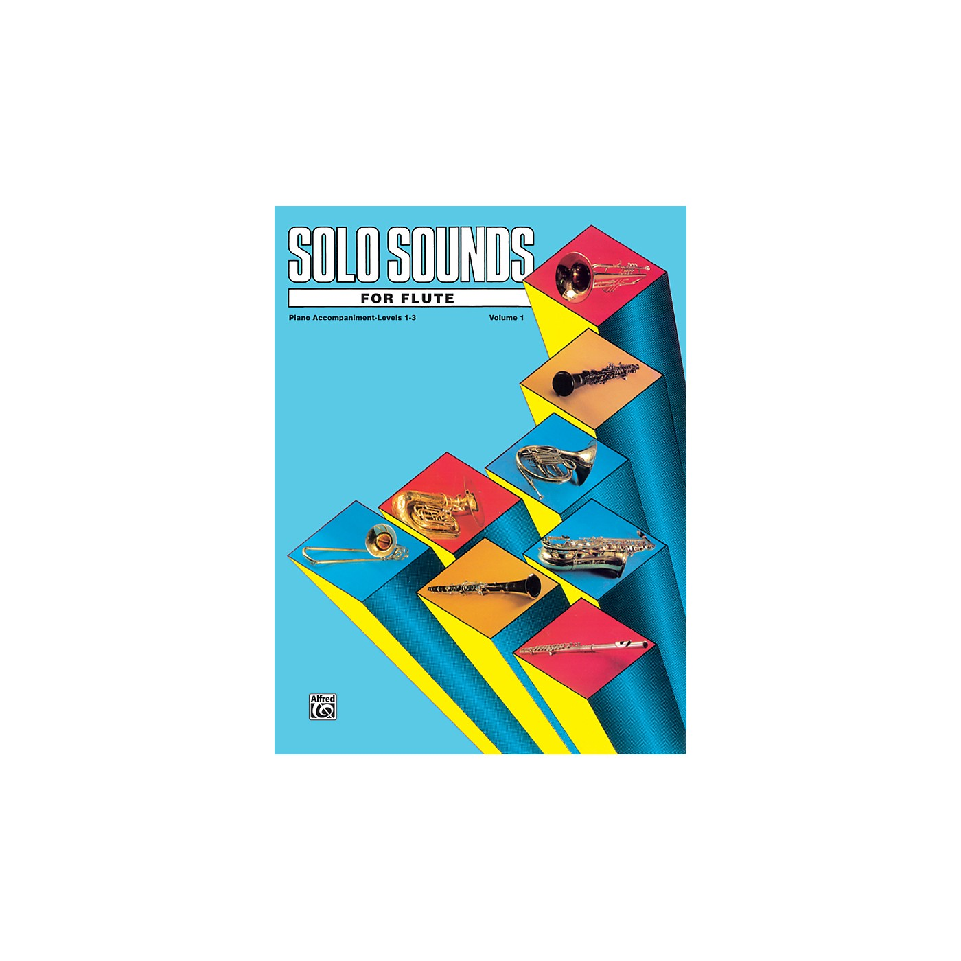 Alfred Solo Sounds for Flute Volume I Levels 1-3 Levels 1-3 Piano Acc. thumbnail