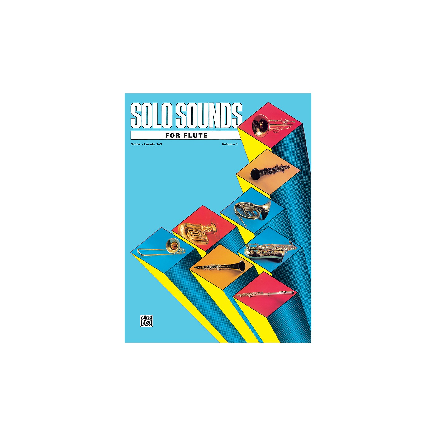 Alfred Solo Sounds for Flute Volume I Levels 1-3 Levels 1-3 Solo BooK thumbnail