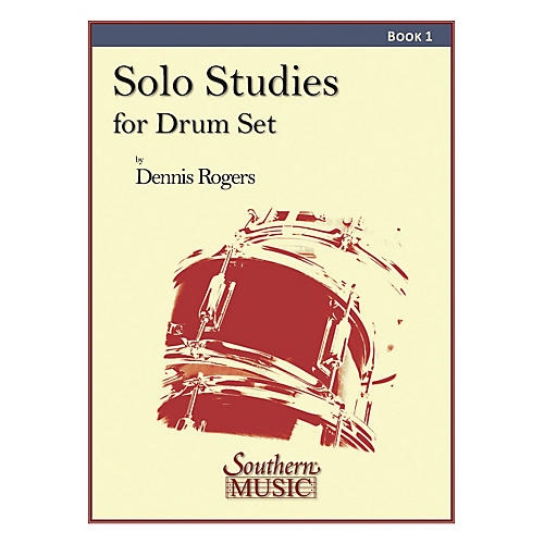 Southern Solo Studies for Drum Set, Book 1 Southern Music Series thumbnail